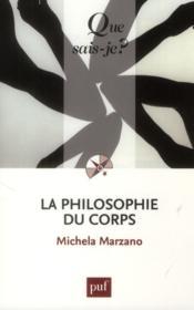 La philosophie du corps (3e édition) - Couverture - Format classique