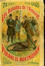 Les Batailles De L'Amour Tome 2 : Viviane De Montmoran. - Couverture - Format classique