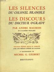 Les Silences Du Colonel Bramble, Les Discours Du Docteur O'Grady - Couverture - Format classique