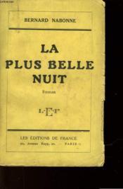 La Plus Belle Nuit - Couverture - Format classique