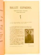 Ballet Espagnol , ballet pour jeunes filles - n° 1 - Couverture - Format classique