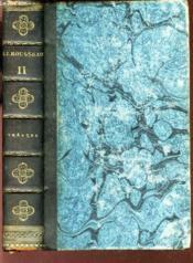 OEUVRES DE J.J. ROUSSEAU / VOLUME 11 : THEATRE / Precedé de la lettre a M. d'Alembert et de l'imitation theatrale. - Couverture - Format classique