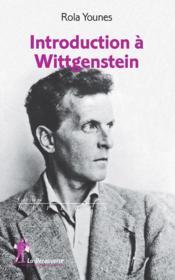 Introduction à Wittgenstein - Couverture - Format classique