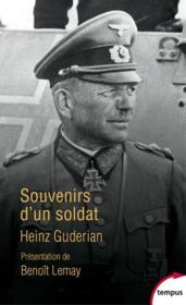 Souvenirs d'un soldat - Couverture - Format classique