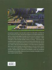 Jardins D'Ile-De-France ; Edition Brochee - 4ème de couverture - Format classique