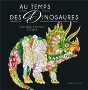 Au temps des dinosaures - Couverture - Format classique