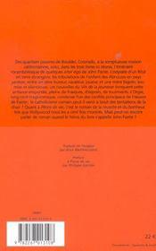 Romans 2 - 4ème de couverture - Format classique