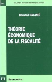 L'Approche Economique De La Fiscalite - Intérieur - Format classique