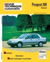 Rta 483.4 Peugeot 309 Diesel Et Turbo D (87-91) - Couverture - Format classique