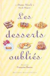 Les desserts oubliés - Intérieur - Format classique