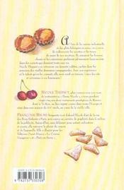 Les desserts oubliés - 4ème de couverture - Format classique