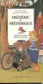 Frederic et frederique ou cent facons d'etre un garcon - vol2 fille 2vols - Couverture - Format classique