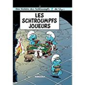 Les Schtroumpfs T.23 ; Les Schtroumpfs Joueurs - Couverture - Format classique