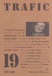 Revue Trafic N.19 - Couverture - Format classique