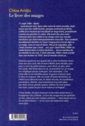 Le livre des nuages - 4ème de couverture - Format classique