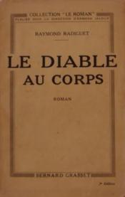 Le Diable Au Corps. - Couverture - Format classique