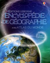 Encyclopédie de géographie avec atlas du monde - Couverture - Format classique