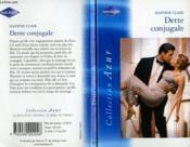 Dette conjugale - Couverture - Format classique