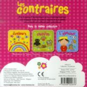 Les contraires - 4ème de couverture - Format classique