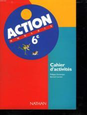 Action 6e Cahier Activites - Couverture - Format classique