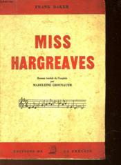 Miss Hargreaves - Couverture - Format classique