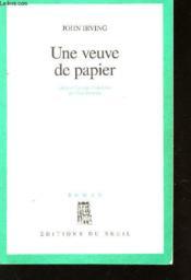 Une Veuve De Papier - Couverture - Format classique
