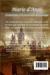 L'exorcisme et la possession démoniaque - 4ème de couverture - Format classique