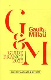 Guide France (édition 2020) - Couverture - Format classique