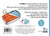 Coroline, la petite sardine de Marseille - 4ème de couverture - Format classique