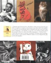 Dictionnaire amoureux des chats - 4ème de couverture - Format classique