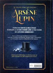 Le grand livre des énigmes Arsène Lupin - 4ème de couverture - Format classique