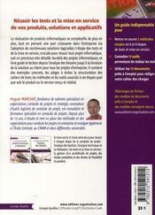 La gestion de projet par étapes ; tests et mise en service ; 3e étape - 4ème de couverture - Format classique