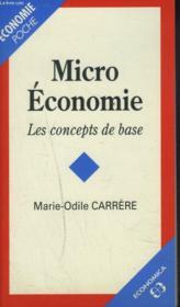 Micro-Economie - Couverture - Format classique