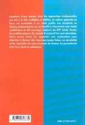 La Culture Generale En Livres Auteurs Du Xxe Siecle - 4ème de couverture - Format classique