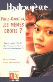 Filles Garcons Les Memes Droits ? - Intérieur - Format classique