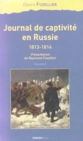 Journal de captivité en Russie, 1813-1814 - Intérieur - Format classique