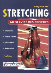 Stretching Au Service Des Sportifs - Intérieur - Format classique