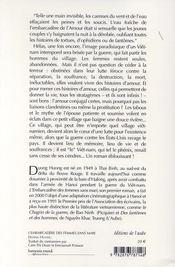 L'Embarcadere Des Femmes Sans Mari - 4ème de couverture - Format classique