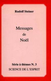 Messages De Noel - Couverture - Format classique