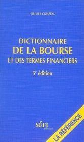 Dictionnaire de la bourse et des termes financiers (5e édition) (5e édition) - Intérieur - Format classique
