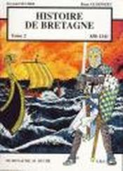 Histoire de Bretagne t.2 ; 830-1341, du royaume au duché - Couverture - Format classique