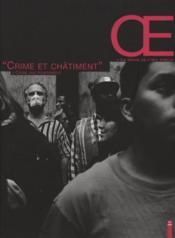 Oeil public ; crime et châtiment - Couverture - Format classique
