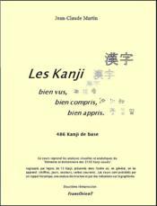 Les kanji bien vus, bien compris, bien appris ; 486 kanji de base - Couverture - Format classique