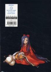 Mirai nikki paradox - 4ème de couverture - Format classique