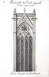 Architecture Gothique Lot De 10 Beaux Lavis Originaux Eléments