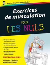Exercices de musculation pour les nuls - Couverture - Format classique