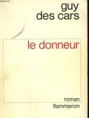 Le Donneur. - Couverture - Format classique