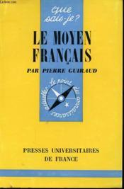 Le Moyen Francais - Couverture - Format classique