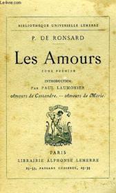 Les Amours, Tome I - Couverture - Format classique