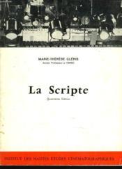 La Scripte - Couverture - Format classique